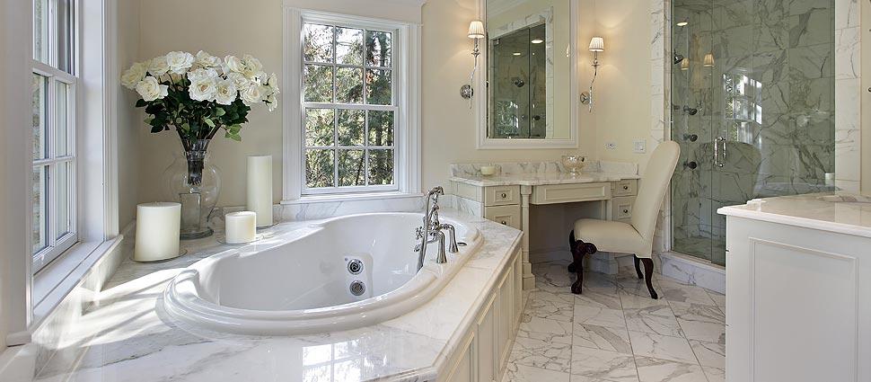 Complete bathroom remodeling r e morgan sons for Plumbing and bathroom remodeling